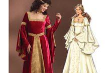 inspiració  vestits renaixement