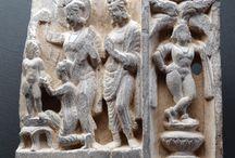 Gandhara The First Bath of Siddhartha / The First Bath of Siddhartha Gandhara