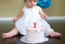 Smash cake shots