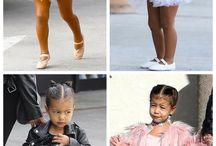 Crianças estilosas
