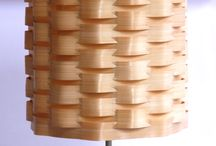Bamboo Lampion: LAMPBU / Bamboo Lampion: LAMPBU Made of bamboo sliced with contoured weaving