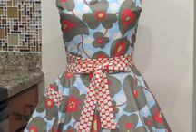 Apron inspirations.  / by Nora Saeler