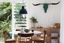 TAILORED SPACE // dining / Dinning rooms that inspire our design work.