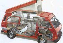 Van Westfalia and Beetle / It VW so just watch M