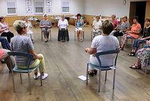 Beschäftigung mit Senioren