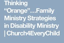 Family / Intergenerational Ministry