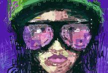 iPad Art / by Cool Like