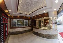 Arabacı Doviz, Kuyumcu ve Doviz Mağaza Dekorasyonu, Jewelry Store design