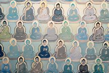 10,000 Buddhas / Paintings in the 10,000 Buddha Project