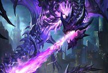 dragon de oscuridad