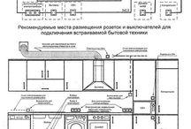 схема установки электрики