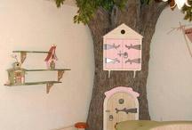 Fairytale princess bedroom/playroom