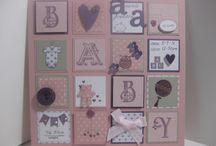kaarten maken voor baby's