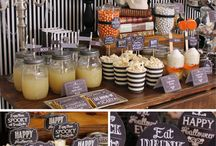 Halloween Theme / Halloween home party ideas