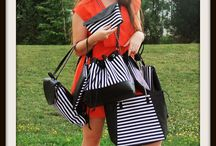 Bah's, kolekce B&W Stripes / kolekce kabelek https://www.facebook.com/bahssewing
