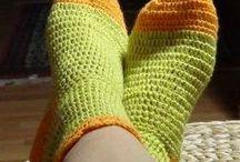 calzini all'uncinetto / foto e video-tutorial per realizzare un paio di calzini all'uncinetto