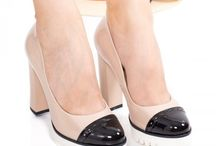 Pantofi cu toc gros dama