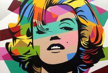 Painting Pop art