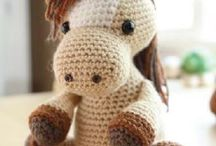 Amigurumi cavallo
