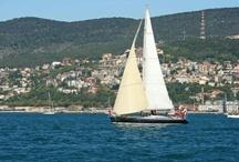 Salidas a navegar. / Organización de salidas a navegar en velero desde Palamós, Costa Brava, Girona