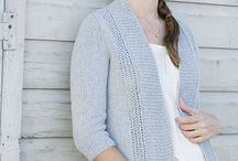 Knitting patterns - Cardigans