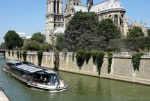 Bateaux Parisiens in Paris / With so many tourist attractions in Paris to see, visit and experience sometimes having a travel on one of the tour boats, such as the Bateaux Parisiens is the way to go, with a tour that goes along the River Seine to show you some of the many tourist attractions you can find.