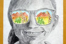 7th Grade Art / by C Mae