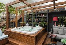 Spa / Temukan berbagai desain spa ideal anda, dalam berbagai gaya pilihan: pedesaan, minimalis, mediteran, dsb; untuk waktu relaksasi terbaik di rumah.