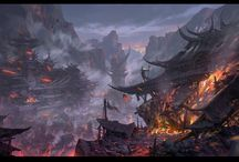 templos oriental samurai