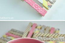 decorar con washi tapes