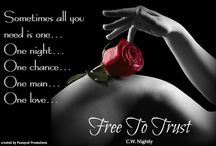 Free To Trust  Teasers / Book Teasers for Free To Trust / by Cw Nightly