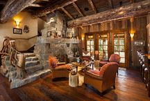 Rustic living rooms / Rustic living rooms are inviting and cozy