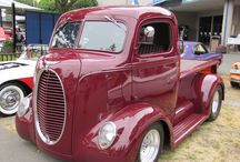 old truck and pick up