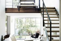 Modern interior and exterior architecture / Modern designs