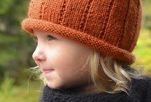 strikkeoppskrifter barn