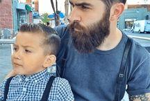 Beard & hair styles