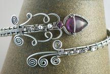 Wire bracelets inspiration
