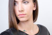 Largentolab Silver Enamel Necklaces / Enamel necklaces, silver necklaces, silver enamel, statement, modern necklaces, elegant necklaces, minimal jewelry, minimalist necklaces, color, unique necklaces, dainty necklaces