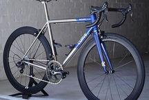 Titanium road bike