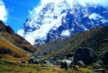 Trekking / Hiking / Witness the great Andes range to Machu Picchu, embracing its majestic sceneries as you make your way to the sacred city of Machu Picchu through the picturesque routes that go from the highlands to the jungle.