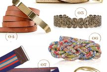 Belts / Belts to brighten my outfits