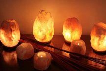 lámparas de sal