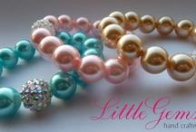 My handmade jewellery / Handmade by me! Visit littlegemsjewellery.net or LittleGems Jewellery on Facebook / by Nicola Haughian