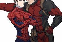 Spider Man X Deadpool