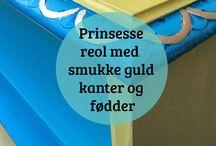 Alt kan males med Annie Sloan kalkmaling - ideer fra Millemajshop.dk
