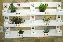 Horta/ jardim