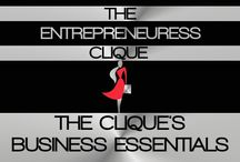 "THE CLIQUE'S BUSINESS ESSENTIALS / WELCOME TO THE ENTREPRENEURESS CLIQUE~ THE CLIQUE'S BUSINESS ESSENTIALS BOARD. THIS BOARD IS A TREASURE & WEALTH OF INFORMATION ON  BUSINESS RESOURCES & TIPS FROM ALL THE LADIES THAT ARE APART OF ""THE CLIQUE""~ / by THE ENTREPRENEURESS CLIQUE™"