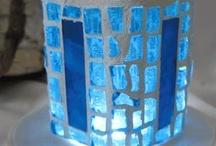 Mosaics - candle holders, vases, etc.