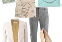 work dress - muted summer