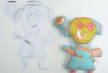 Pequeños artistas. / Dibujos encontrados en la red, hechos por niños y dibujos recibidos de pequeños artistas ; )